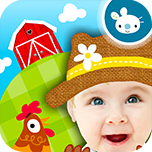 Peekaboo Barn app for kids and toddler on the app store