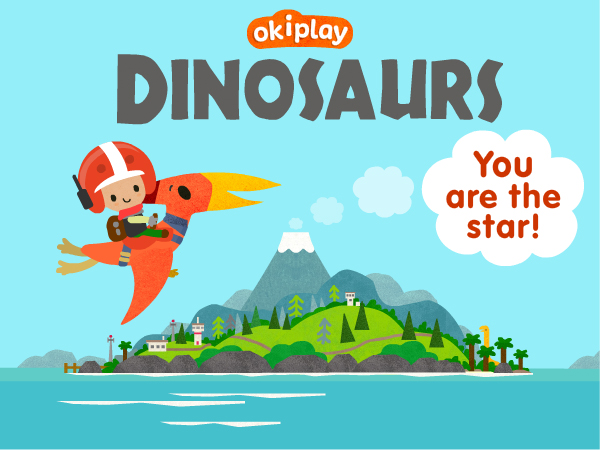 Dinosaur Game for Kids App